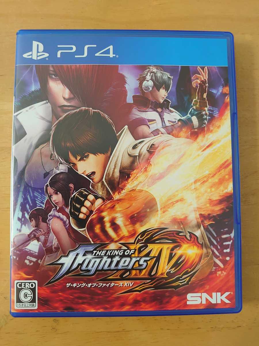 中古 PS4 THE KING OF FIGHTERS XIV (ザ・キング・オブ・ファイターズ14)