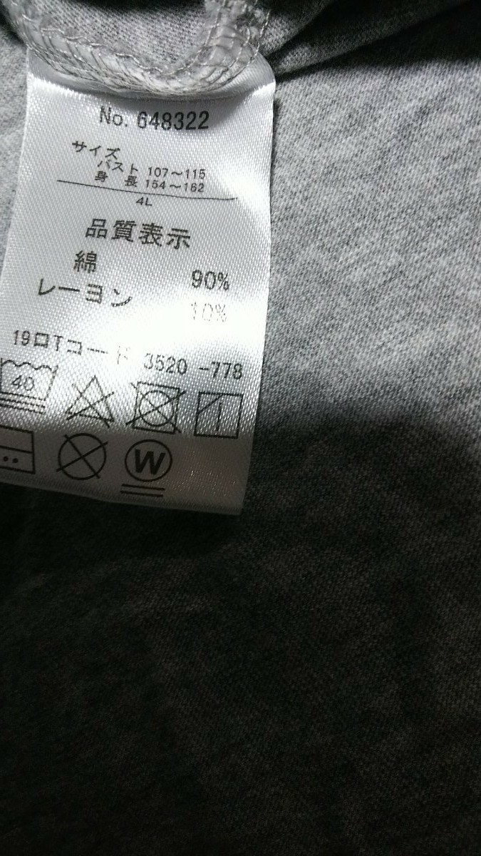 半袖Tシャツ※ 大きいサイズ※4L