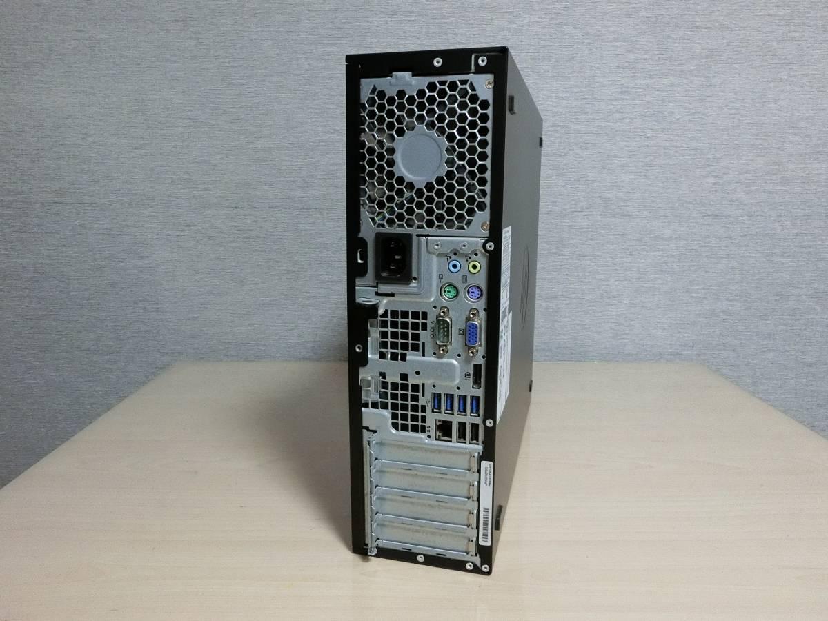 ● 1円スタート~HP Compaq Pro 6300 SFF Core i3-3220 Windows 10 Pro 64bit(ライセンス認証済) ●3_画像3