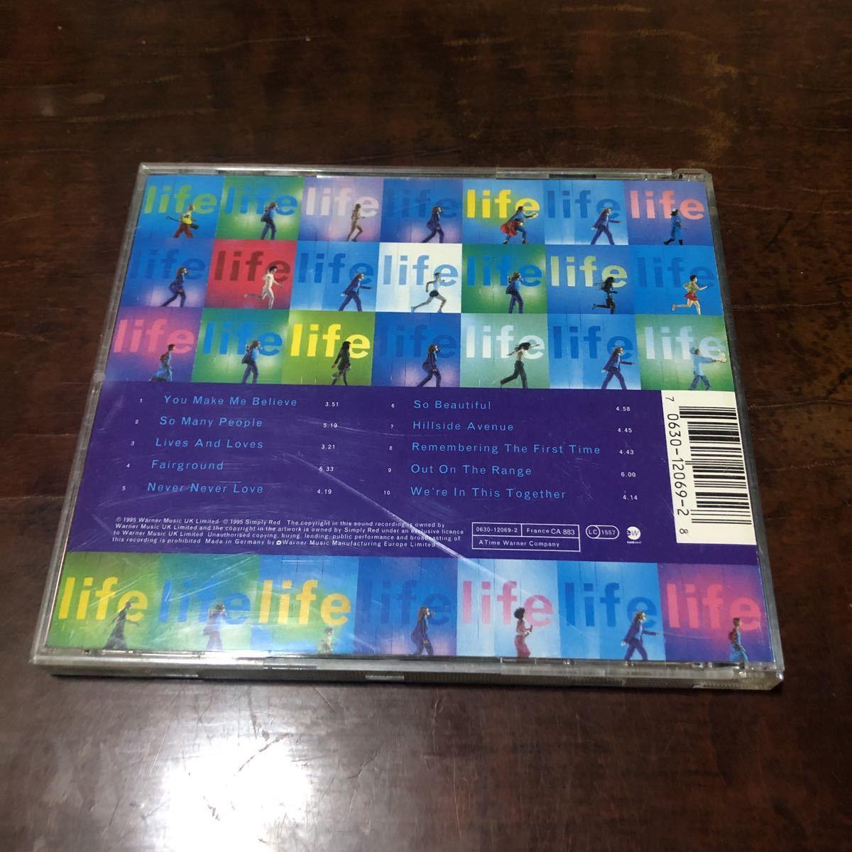 シンプリー・レッド ライフ EU盤CD