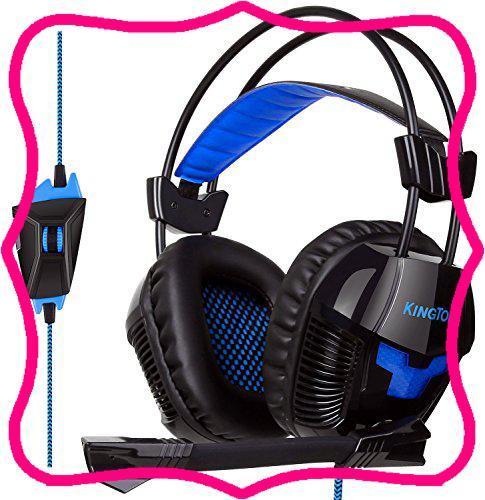 ゲーミングヘッドセット KINGTOP ヘッドホン K11シリーズ 3.5mm コネクタ 高集音性マイク付 マイク位置360度調整_画像1