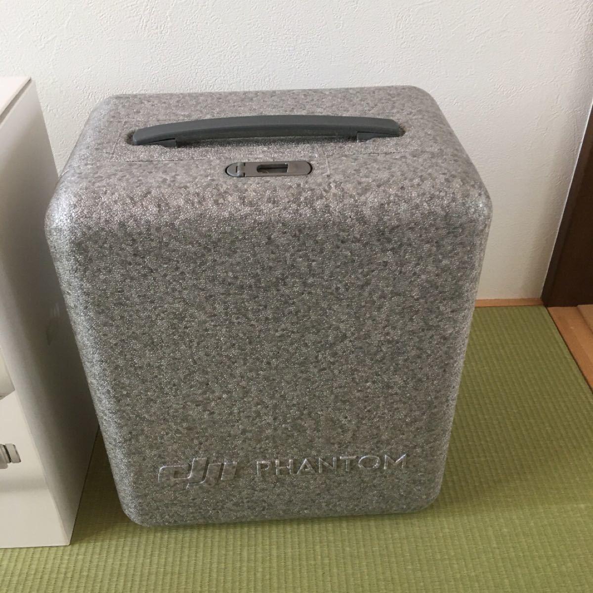 DJI  ファントム4空箱とマシン入れボックス