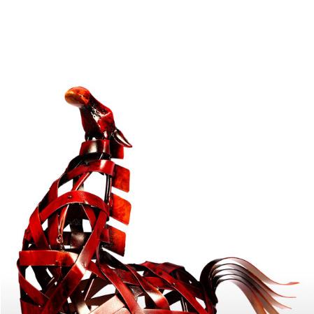 k1115 金属の馬の置き物 金属 ヴィンテージ 家の装飾 動物 オフィス インテリア ギフト_画像5