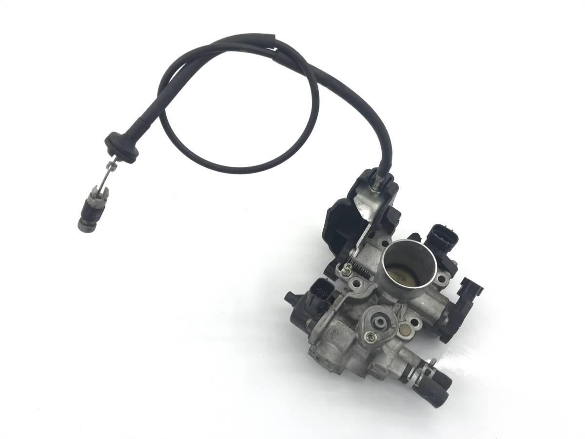_b36482 スズキ ワゴンR FXリミテッドⅡ DBA-MH23S スロットルボディ ワイヤー センサー付き K6A マツダ AZワゴン MJ23S_画像1
