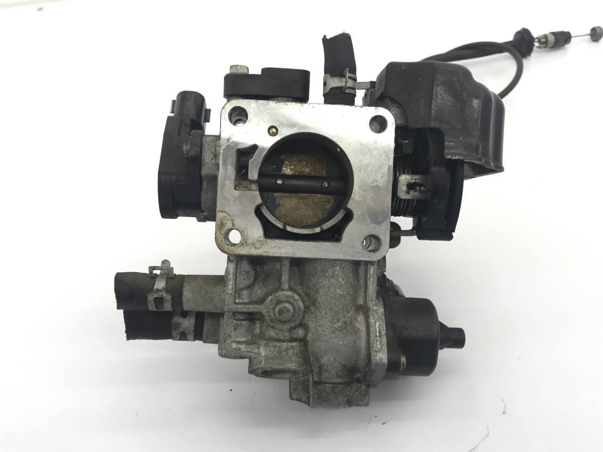 _b36482 スズキ ワゴンR FXリミテッドⅡ DBA-MH23S スロットルボディ ワイヤー センサー付き K6A マツダ AZワゴン MJ23S_画像6