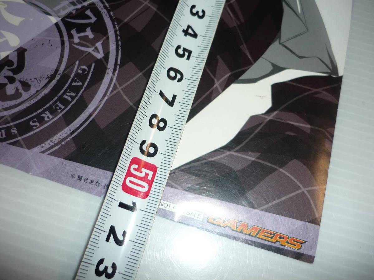 【送料無料】中目黒善樹 生徒会の一存 非売品 ポスター ゲーマーズ / スティックポスター_画像5