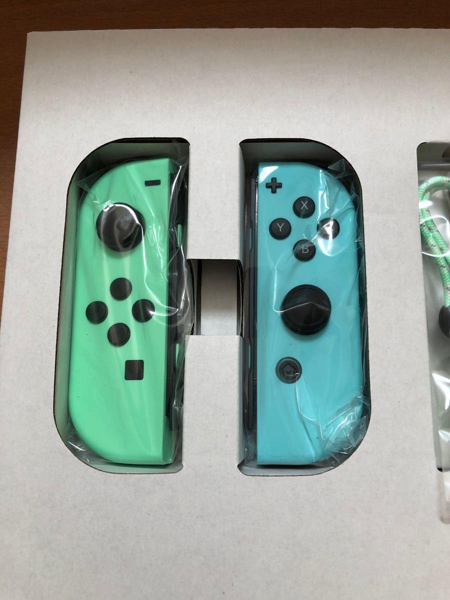 Nintendo Switchどうぶつの森 Joy-Con(L)(R)