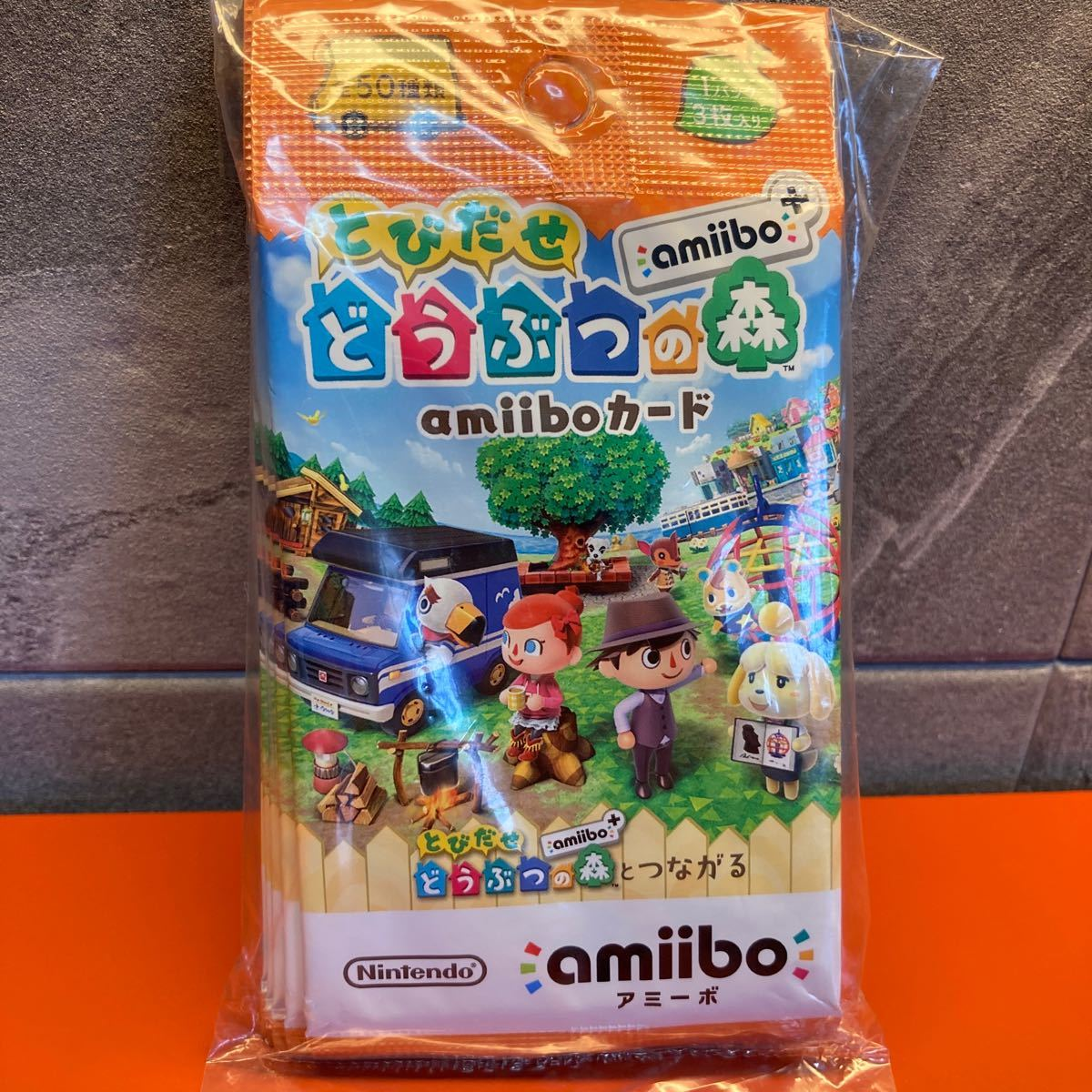 新品『とびだせ どうぶつの森 amiibo+』 amiiboカード 【5パック】