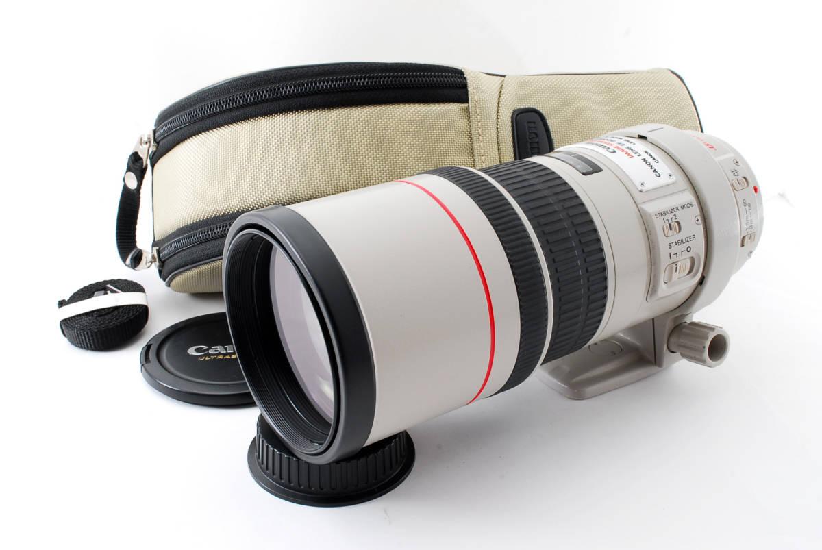★☆ 極上品! CANON キヤノン EF 300mm F4 L IS USM 望遠単焦点レンズ ★☆