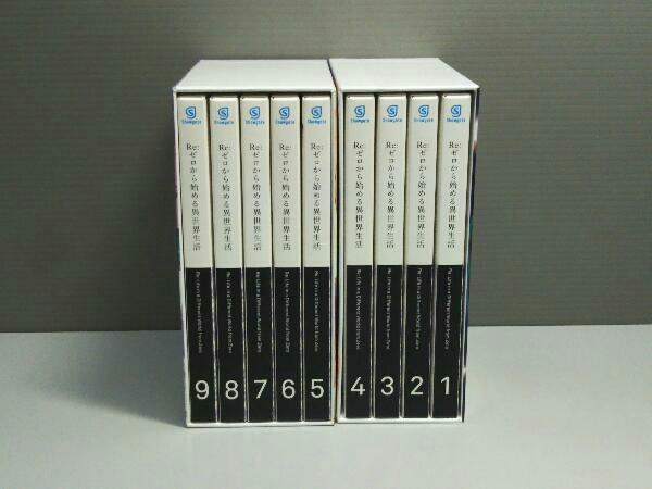 【※※※】[全9巻セット]Re:ゼロから始める異世界生活 1~9(Blu-ray Disc) 小説欠品_画像6