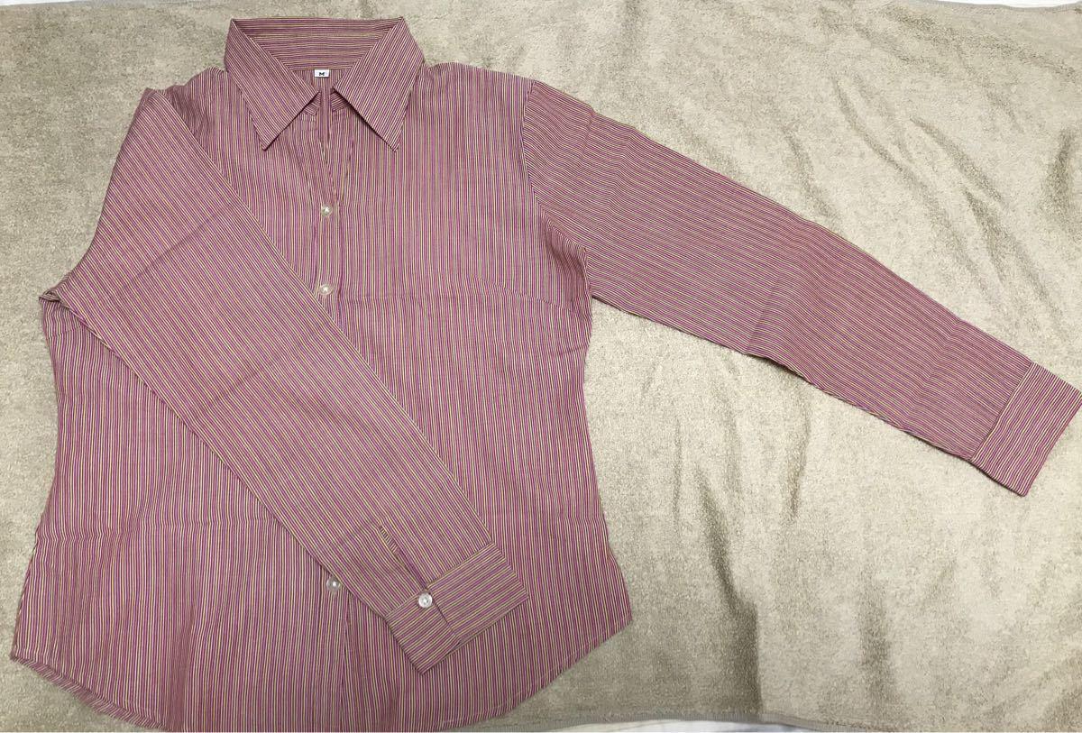 ストライプシャツ 長袖