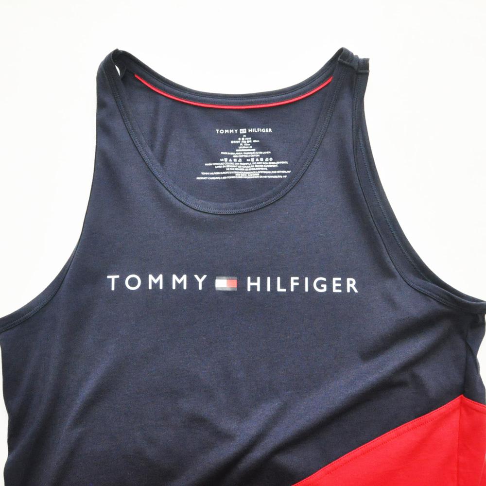 TOMMY HILFIGER/トミーヒルフィガー カラー切り返し タンクトップ_画像3