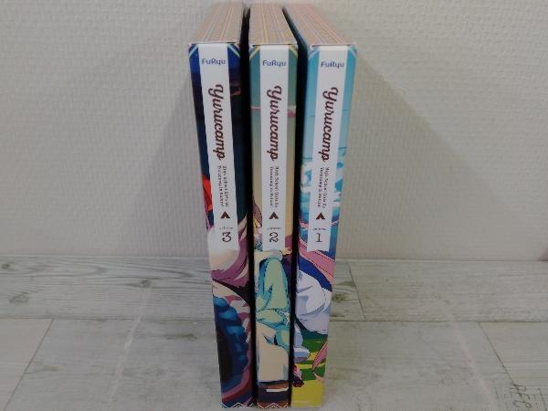 【※※※】[全3巻セット]ゆるキャン△ 第1~3巻(Blu-ray Disc)_画像1