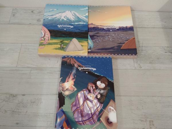 【※※※】[全3巻セット]ゆるキャン△ 第1~3巻(Blu-ray Disc)_画像2