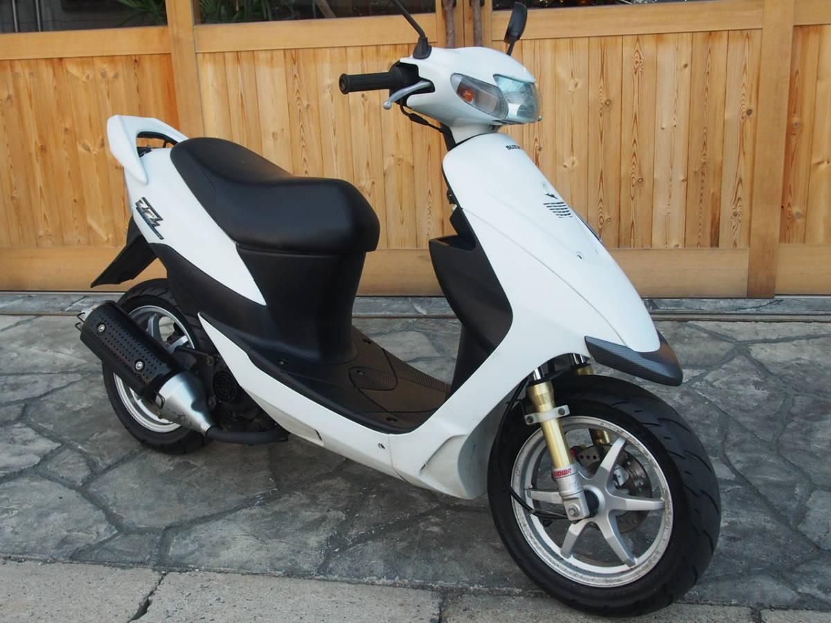 「●スズキ ZZ(CA1PB) 実動確認済み 普段使いやセカンドバイクとして 現状 売り切り 学生さんの足にも♪ 愛知より☆」の画像1
