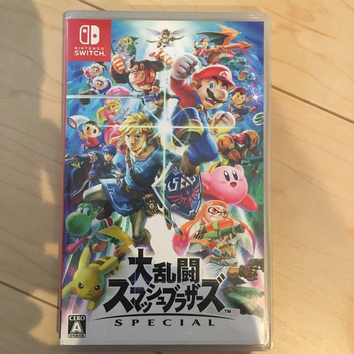 大乱闘スマッシュブラザーズSPECIAL Nintendo Switch