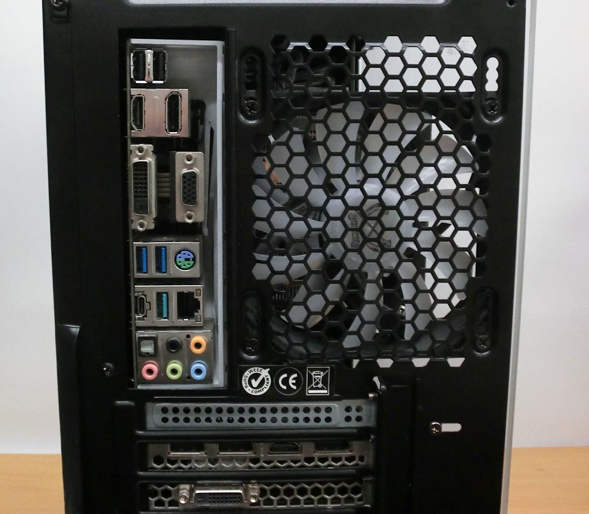 高性能自作ゲーミングPC 16GBメモリ 4コア/8スレッド Corei7 第7世代 7700 最大4.2Ghz GTX1070Ti(8G) 256GB+1TB フォートナイト Windows10 _画像5