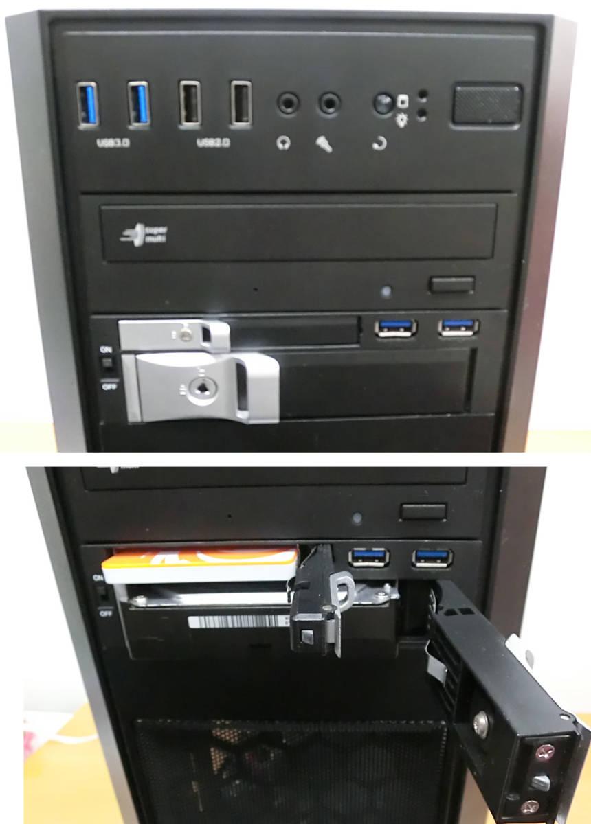 高性能自作ゲーミングPC 16GBメモリ 4コア/8スレッド Corei7 第7世代 7700 最大4.2Ghz GTX1070Ti(8G) 256GB+1TB フォートナイト Windows10 _画像6