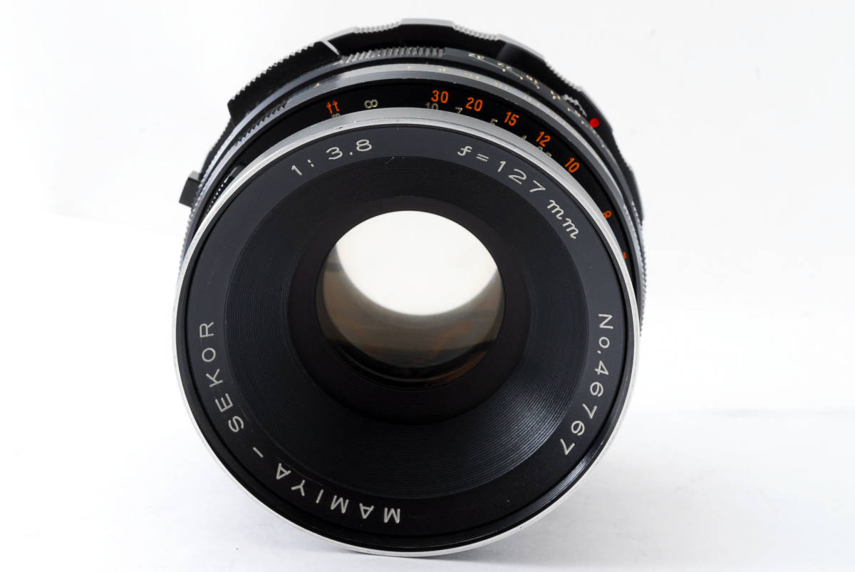 ◇◆ 動作不良 マミヤ Mamiya セコール Sekor 127mm f3.8 RB67 Pro S SD 用 中判カメラ 中判レンズ 5602 ◆◇_画像2