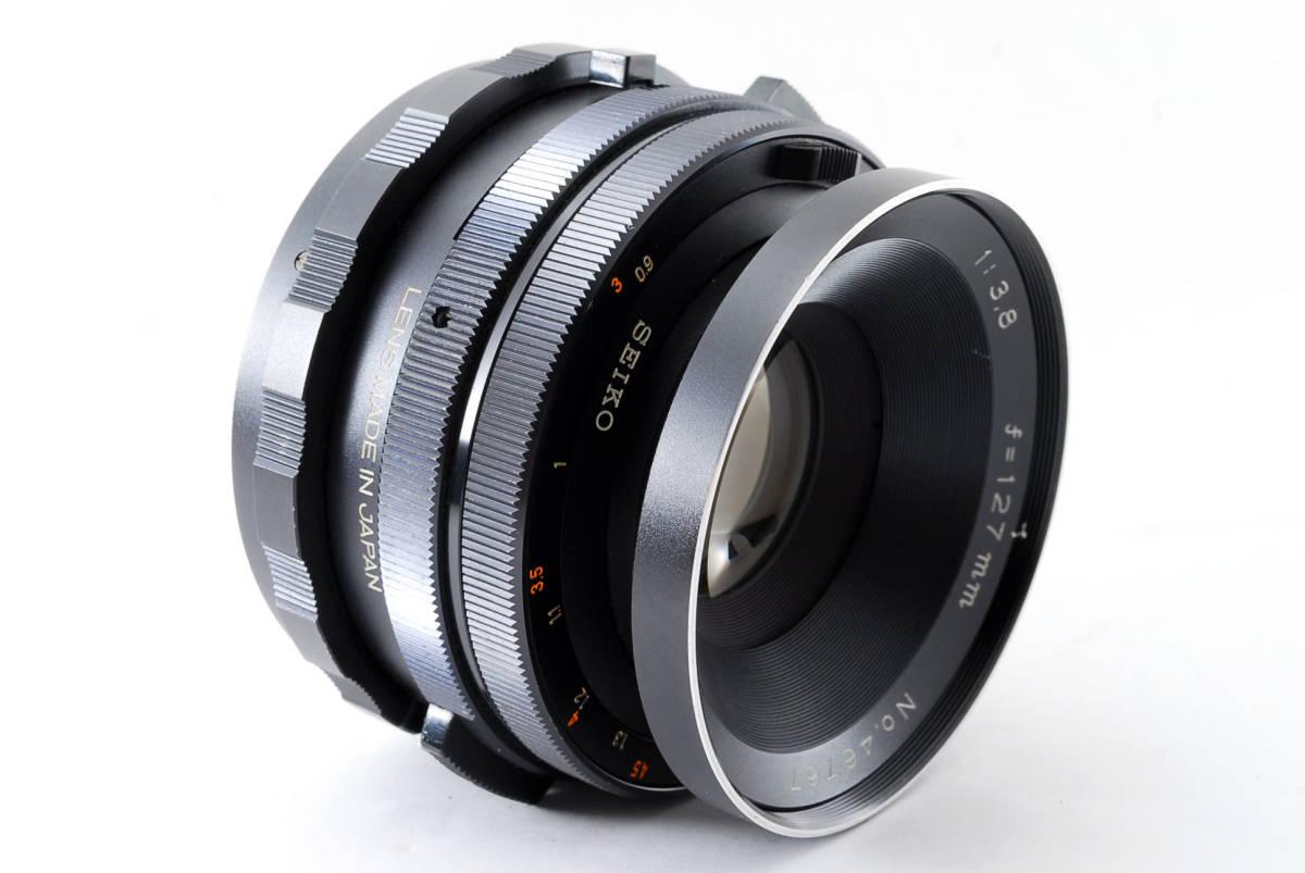 ◇◆ 動作不良 マミヤ Mamiya セコール Sekor 127mm f3.8 RB67 Pro S SD 用 中判カメラ 中判レンズ 5602 ◆◇_画像3