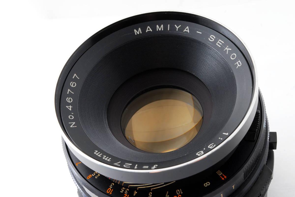 ◇◆ 動作不良 マミヤ Mamiya セコール Sekor 127mm f3.8 RB67 Pro S SD 用 中判カメラ 中判レンズ 5602 ◆◇_画像10
