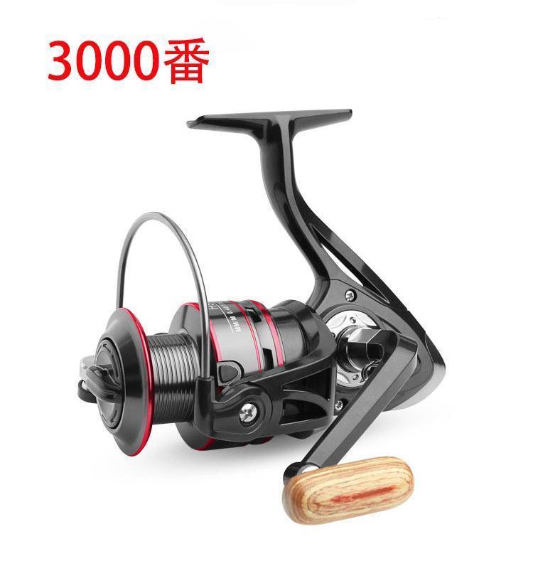 Z37 送料無料 フィッシング リール スピニングリール 3000番 釣り ギア比5.2:1 湖 川 淡水釣り 海釣り ハンドル左右交換_画像1
