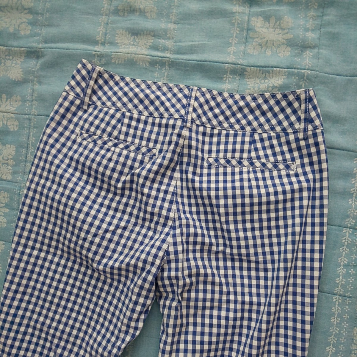 ギンガムチェック ズボン パンツ