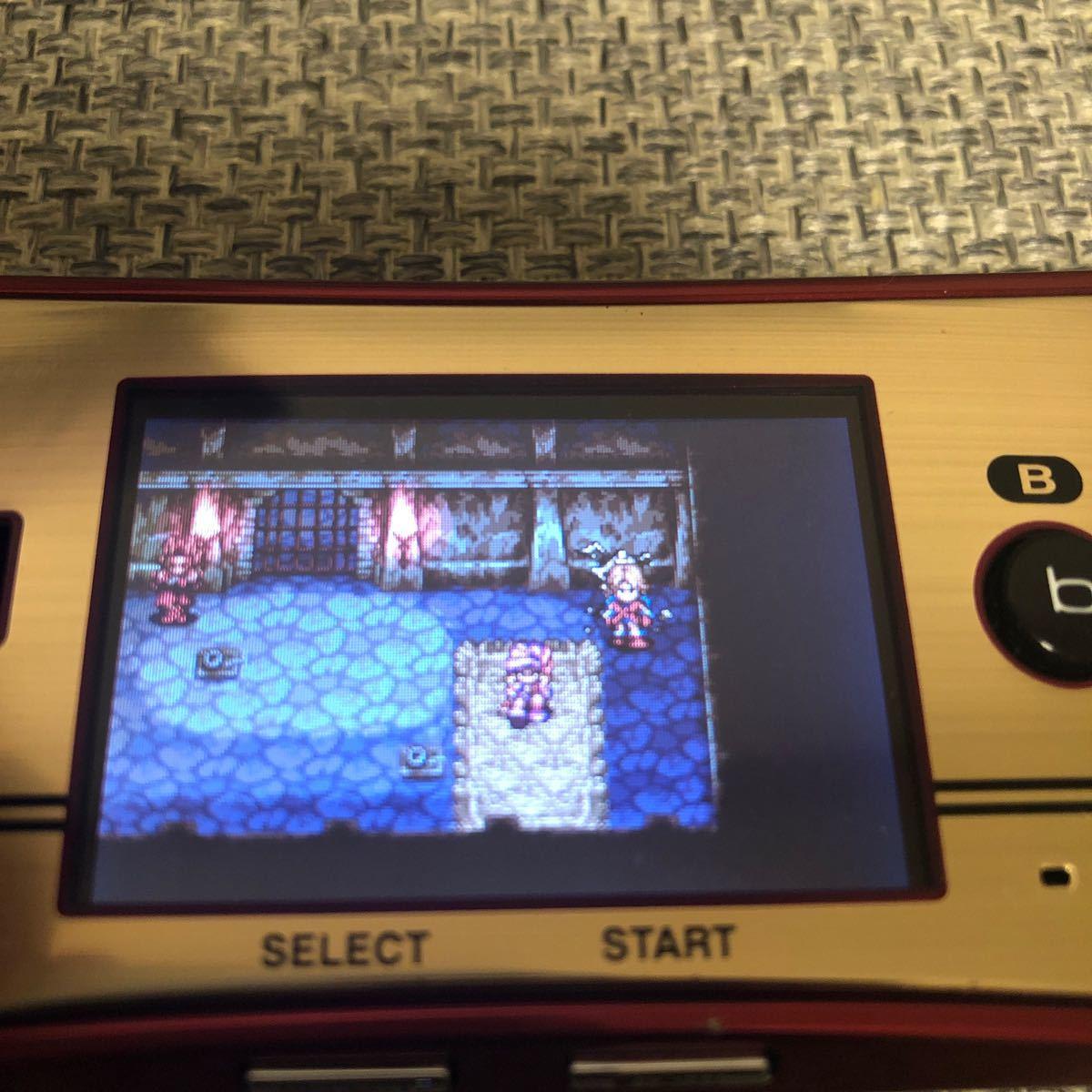 ゲームボーイアドバンス  ソフト 新約 聖剣伝説