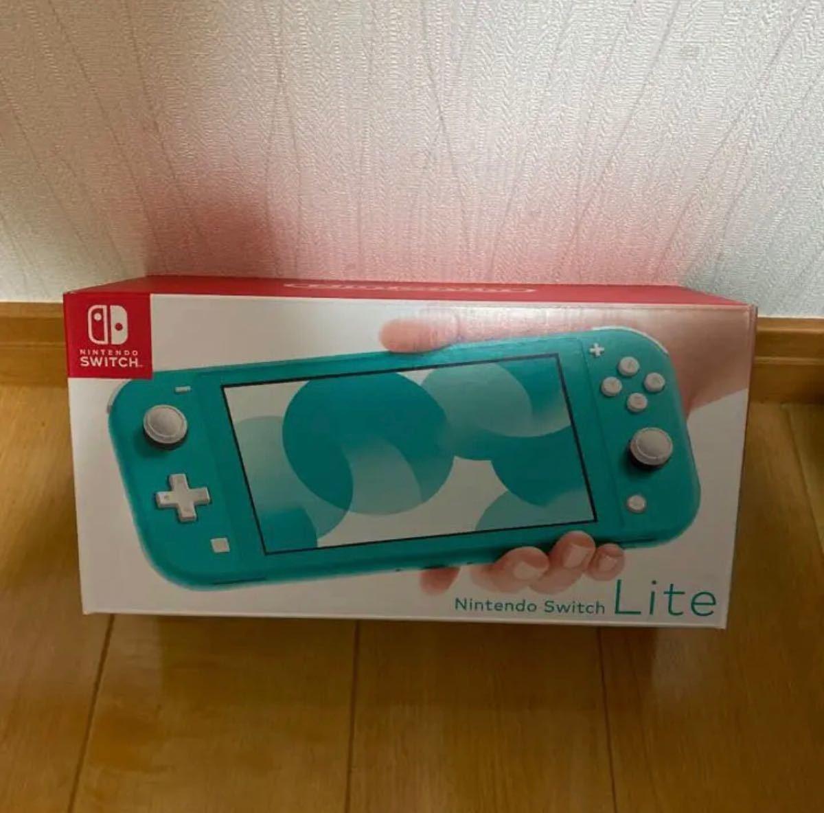 Nintendo Switch lite  スイッチ ライト ターコイズ