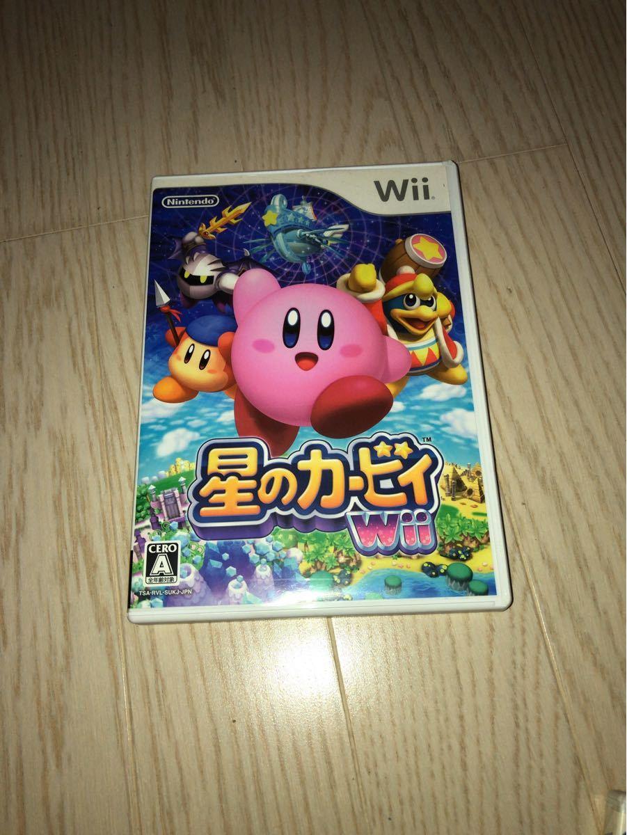 星のカービィ 星のカービィWii Wiiソフト