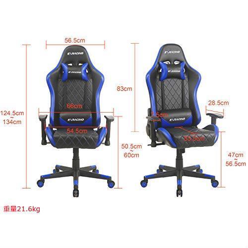 送料無料 【 ゲーミングチェア ミーティングチェア 人間工学に基づいた3D設計 】 オフィスチェア デスクチェア 椅子 ゲーム用チェア_画像7