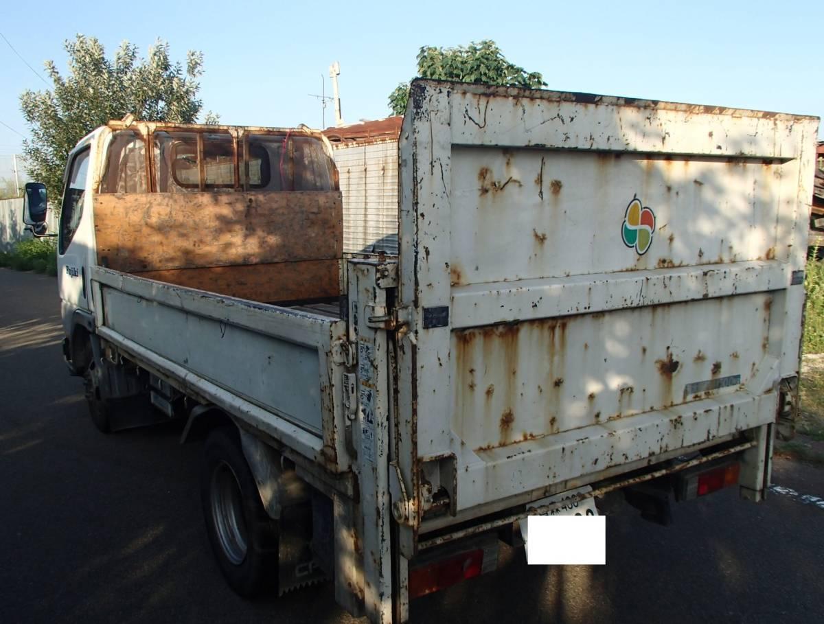 「キャンター KC-FB501B 輸出部品取り用」の画像2