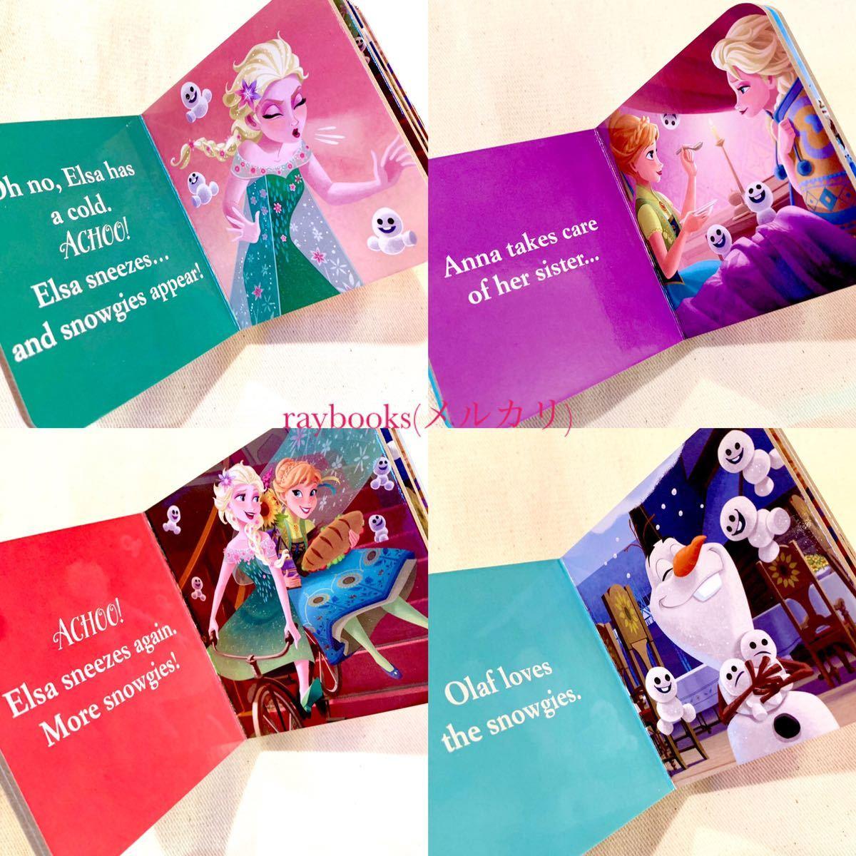 新品【海外購入】ディズニープリンセス 英語絵本 アナと雪の女王 12冊 エルサ FROZEN disney 知育絵本 知育玩具