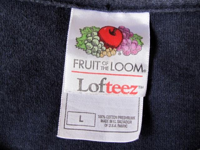 FRUIT OF THE LOOM Vintage Tシャツ ATHLETIC DEPT. USAメンズ フルーツオブザルーム ネイビー L