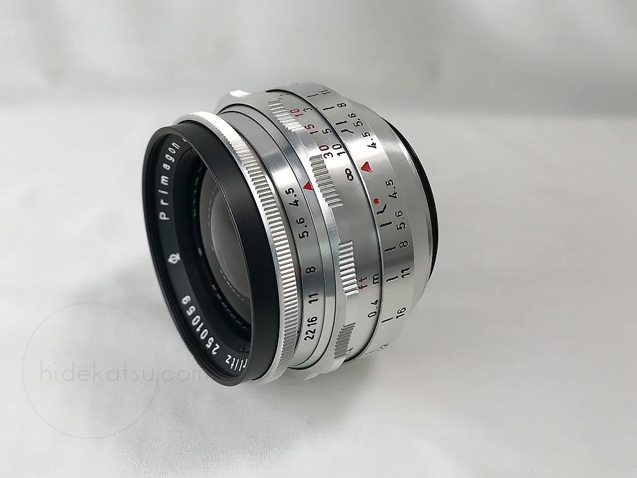 メイヤーの準広角プリマゴン純正ケース付【分解清掃済み・撮影チェック済み】Primagon F4.5 35mm M42 / Meyer Optik Grlitz _08g_画像3