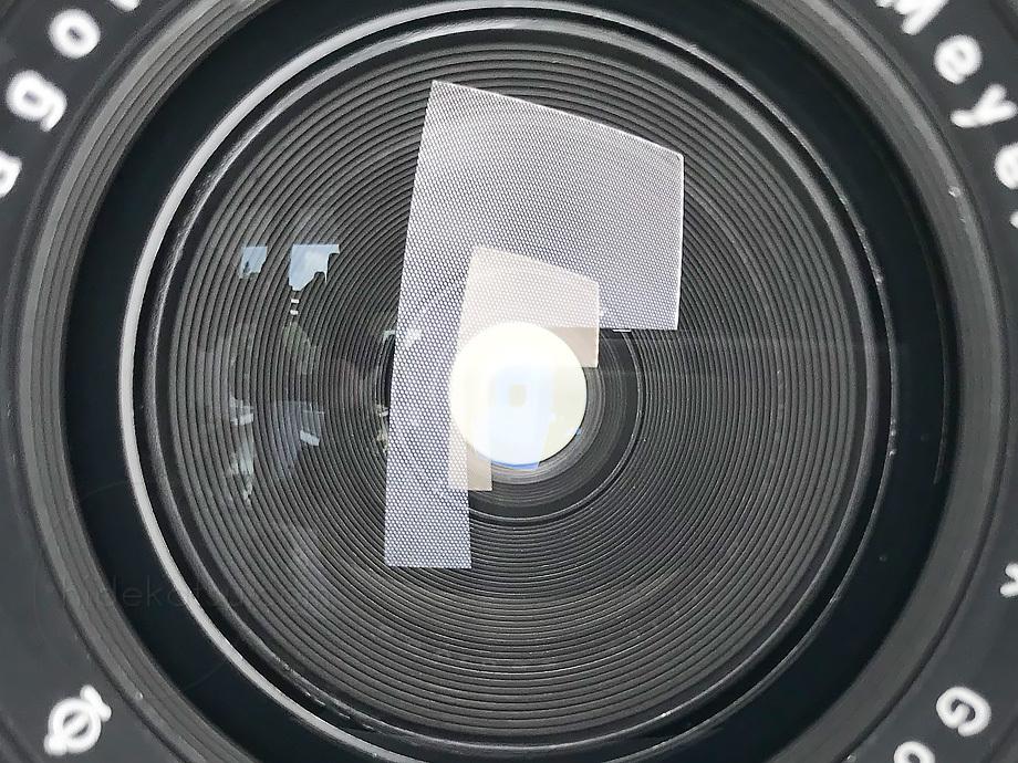 メイヤーの準広角プリマゴン純正ケース付【分解清掃済み・撮影チェック済み】Primagon F4.5 35mm M42 / Meyer Optik Grlitz _08g_画像9