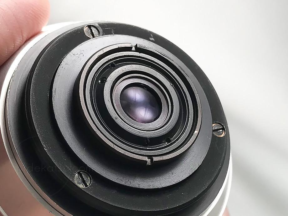 メイヤーの準広角プリマゴン純正ケース付【分解清掃済み・撮影チェック済み】Primagon F4.5 35mm M42 / Meyer Optik Grlitz _08g_画像8