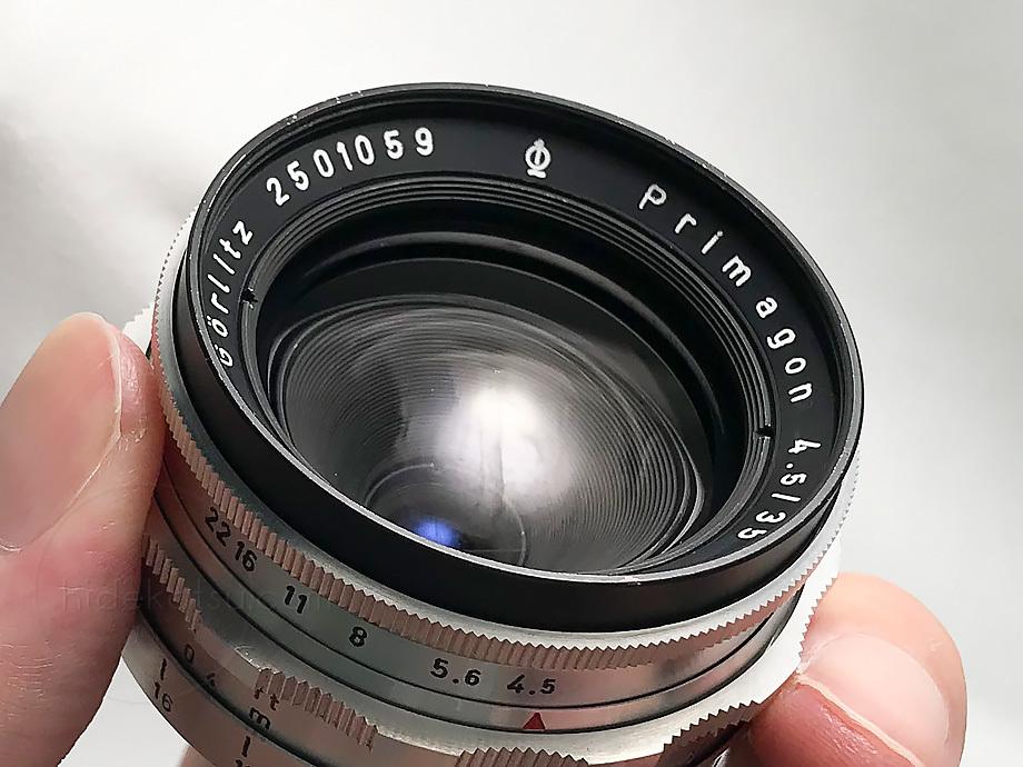 メイヤーの準広角プリマゴン純正ケース付【分解清掃済み・撮影チェック済み】Primagon F4.5 35mm M42 / Meyer Optik Grlitz _08g_画像7