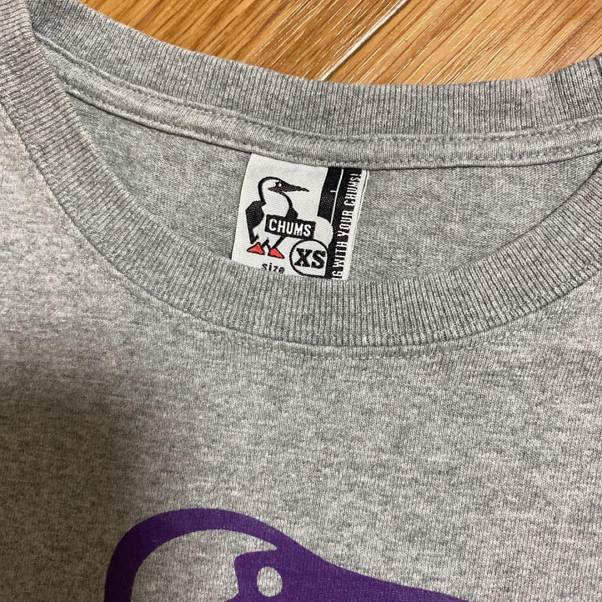CHUMS ロゴTシャツ