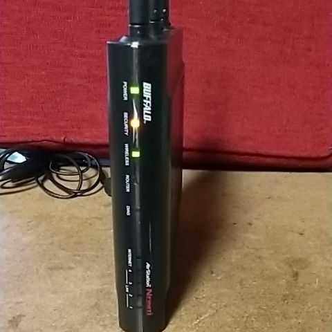 無線 LANルーター BUFFALO WZR2-G300N