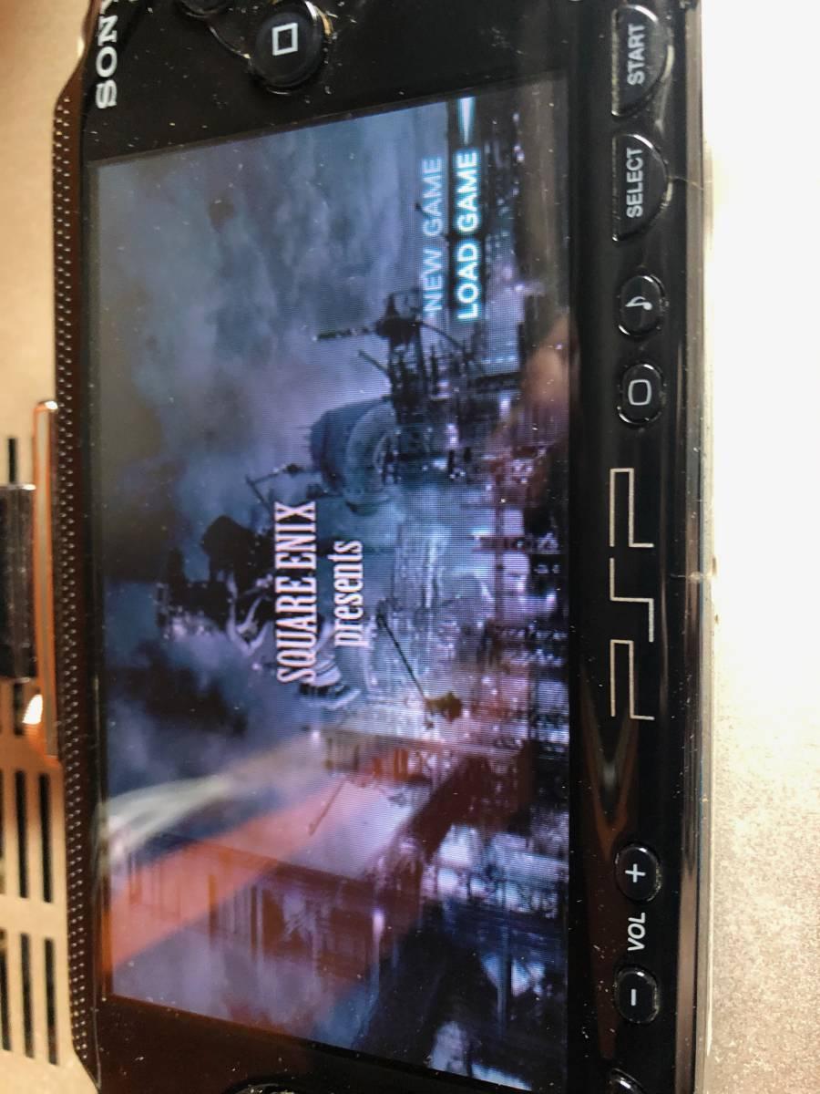 PSP FINAL FANTASY VII CRISIS CORE ファイナルファンタジー7 クライシスコア