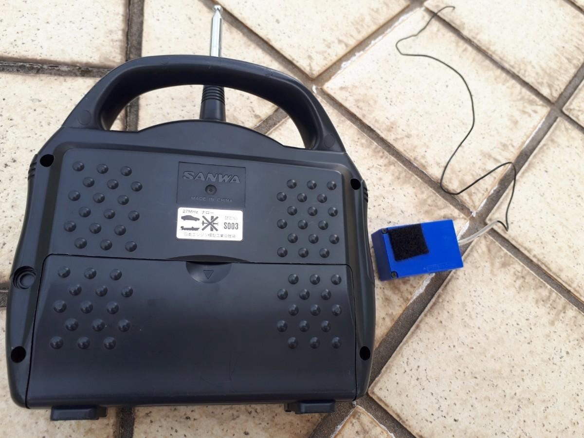 サンワ 送信機 受信機 クリスタルセット