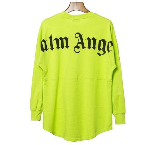 【掘り出し品】希少~ロングT-Shirt~cotton★☆ Palm Angels ☆★ ~coolな逸品~ Mでも大きい♪《 Palm Angels ロンT》で検索! マスター