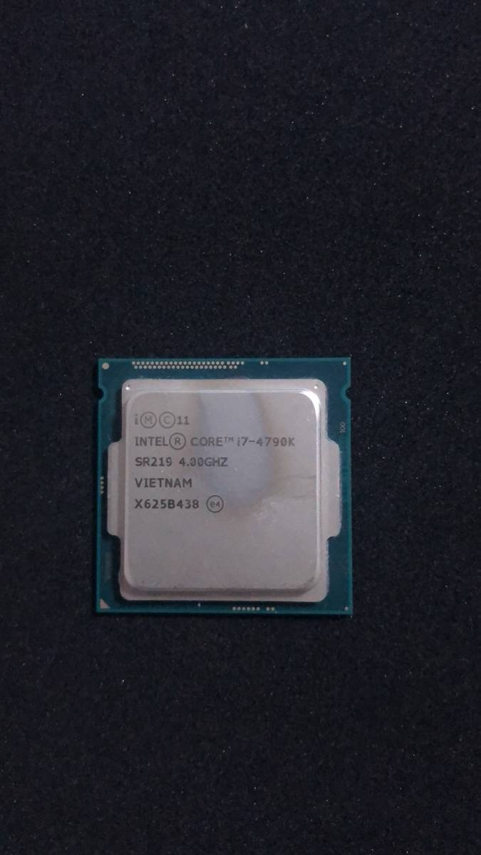 Intel インテル Core i7-4790K 3.4GHz CPU junk