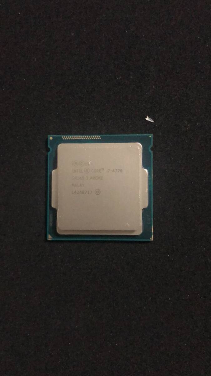 Intel インテル Core i7-47703.4GHz CPU junk