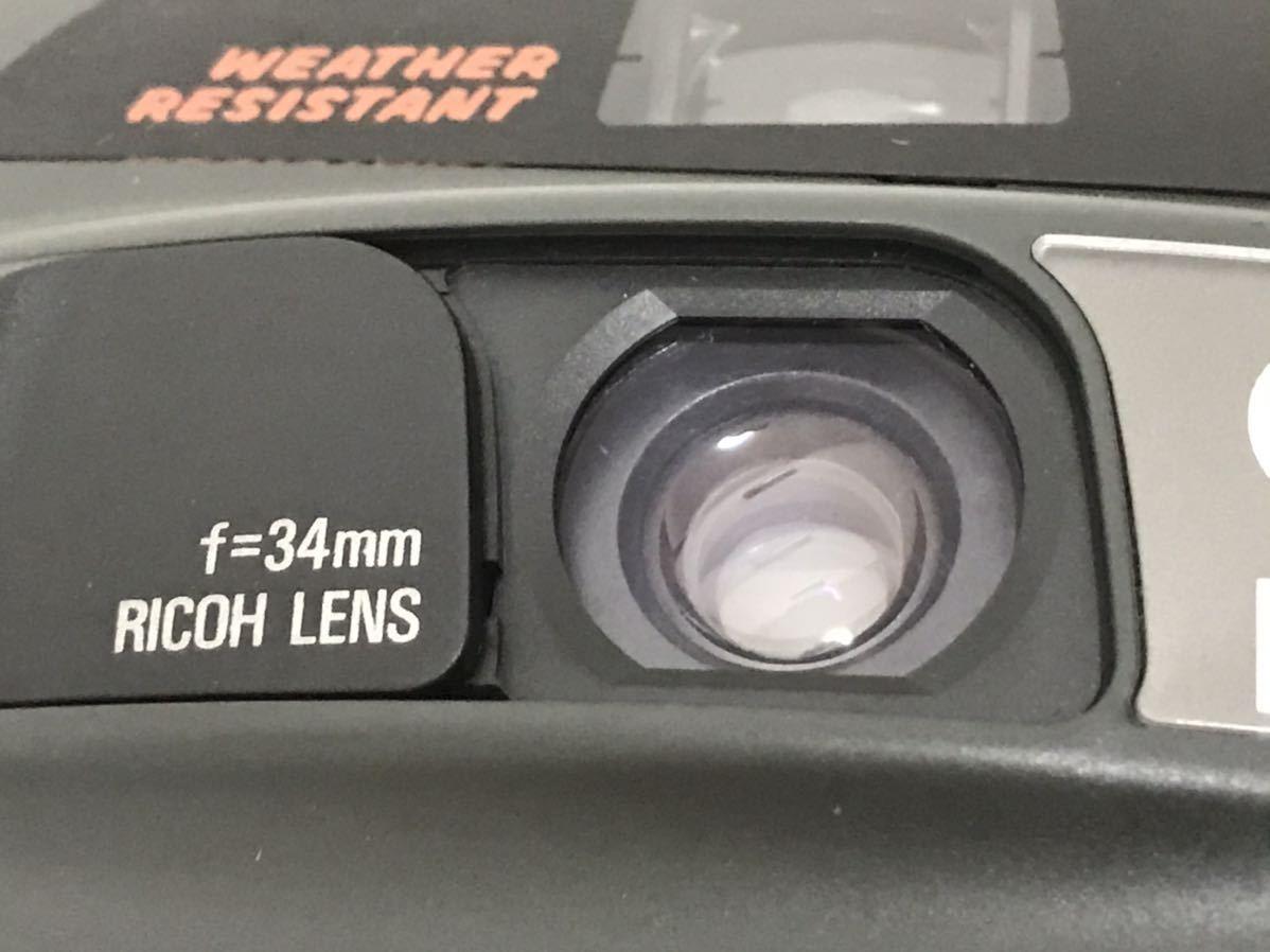 RICOH リコー LX-55W DATE 34mm コンパクトフィルムカメラ 動作確認済 153a0635_画像3
