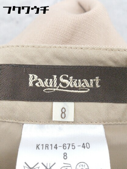 ◇ Paul Stuart ポール スチュアート パンツ サイズ8 ベージュ レディース_画像3