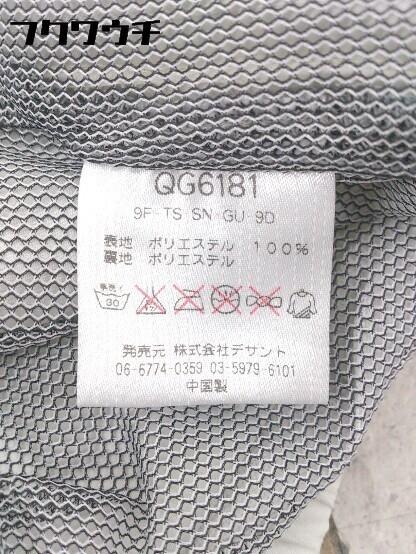 ◇ le coq sportif ルコックスポルティフ ロゴ 刺繍 長袖 ジップアップ ジャケット サイズM グレー レッド メンズ_画像5