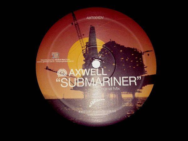 3430【LP盤】 ☆めったに出品されない ☆アクスウェル Submariner   ≪貴重レコード≫ 複数落札おまとめ発送可K_画像3