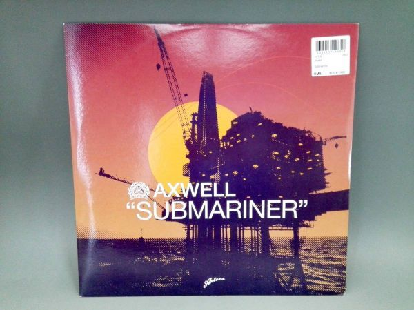 3430【LP盤】 ☆めったに出品されない ☆アクスウェル Submariner   ≪貴重レコード≫ 複数落札おまとめ発送可K_画像1